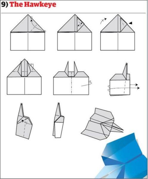 Origami : Seni Melipat Kertas Menjadi 12 Jenis Pesawat Terbang