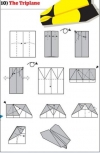 origami pesawat - 10