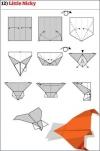 origami pesawat - 12
