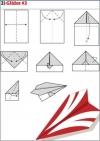 origami pesawat - 2