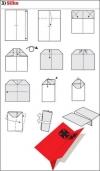 origami pesawat - 3