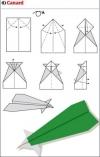 origami pesawat - 4