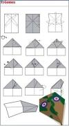 origami pesawat - 7