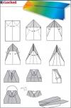 origami pesawat - 8