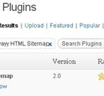 Nginstal Plugin Kwayy HTML Sitemap bagian 1