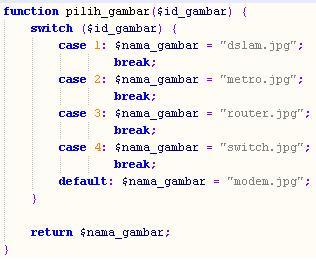 fungsi asosiasi id_gambar dengan nama_file