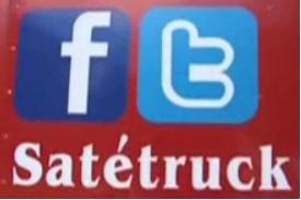 sate truck punya facebook dan twitter